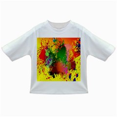 Embroidery Dab Color Spray Infant/toddler T Shirts