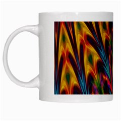 Background Abstract Texture White Mugs
