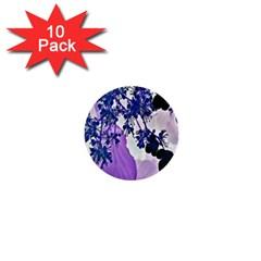 Blossom Bloom Floral Design 1  Mini Buttons (10 Pack)