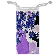 Blossom Bloom Floral Design Jewelry Bag by Sapixe