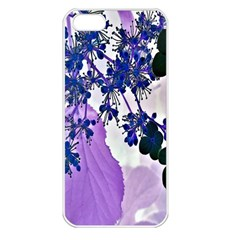 Blossom Bloom Floral Design Apple Iphone 5 Seamless Case (white) by Sapixe