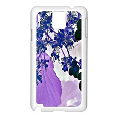 Blossom Bloom Floral Design Samsung Galaxy Note 3 N9005 Case (white) by Sapixe