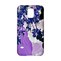 Blossom Bloom Floral Design Samsung Galaxy S5 Hardshell Case  by Sapixe