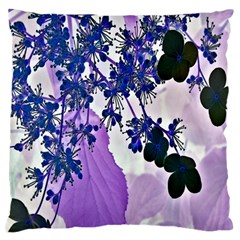 Blossom Bloom Floral Design Standard Flano Cushion Case (two Sides)