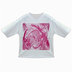 Pink Marble Painting Texture Pattern Infant/toddler T Shirts