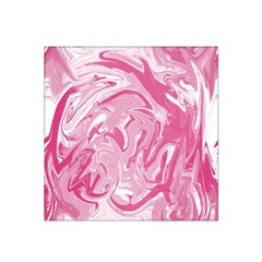 Pink Marble Painting Texture Pattern Satin Bandana Scarf