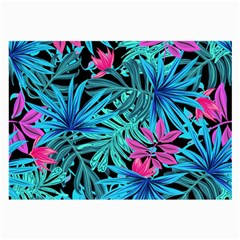 Leaves Picture Tropical Plant Large Glasses Cloth (2 Side) by Sapixe