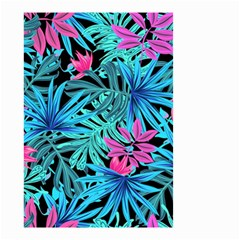 Leaves Picture Tropical Plant Small Garden Flag (two Sides) by Sapixe