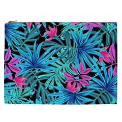 Leaves Picture Tropical Plant Cosmetic Bag (xxl)