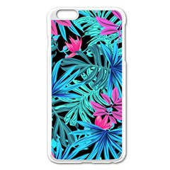 Leaves Picture Tropical Plant Apple Iphone 6 Plus/6s Plus Enamel White Case by Sapixe