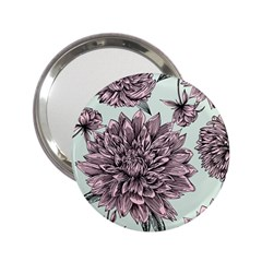 Flowers Flower Rosa Spring 2 25  Handbag Mirrors by Sapixe