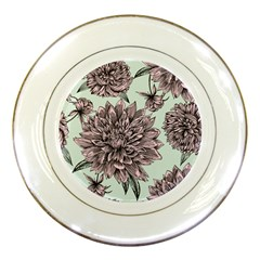 Flowers Flower Rosa Spring Porcelain Plates by Sapixe
