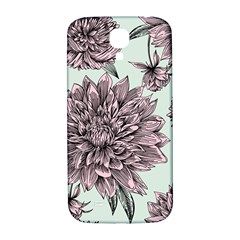 Flowers Flower Rosa Spring Samsung Galaxy S4 I9500/i9505  Hardshell Back Case by Sapixe