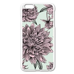 Flowers Flower Rosa Spring Apple Iphone 6 Plus/6s Plus Enamel White Case