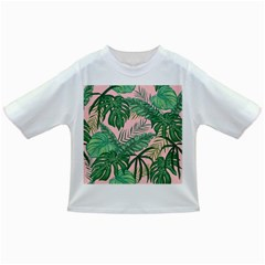 Tropical Greens Leaves Design Infant/toddler T Shirts