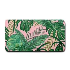 Tropical Greens Leaves Design Medium Bar Mats by Sapixe