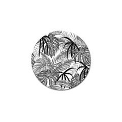 Drawing Leaves Nature Picture Golf Ball Marker (4 Pack) by Sapixe