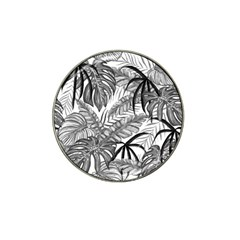 Drawing Leaves Nature Picture Hat Clip Ball Marker