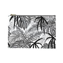 Drawing Leaves Nature Picture Cosmetic Bag (large) by Sapixe