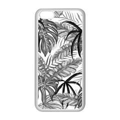 Drawing Leaves Nature Picture Apple Iphone 5c Seamless Case (white) by Sapixe