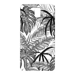 Drawing Leaves Nature Picture Samsung Galaxy Note 3 N9005 Hardshell Back Case by Sapixe