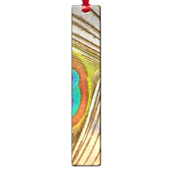 Peacock Feather Feather Bird Large Book Marks by Sapixe