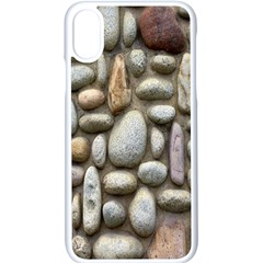 The Stones Facade Wall Building Apple Iphone X Seamless Case (white)