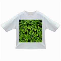 Green Hedge Texture Yew Plant Bush Leaf Infant/toddler T Shirts