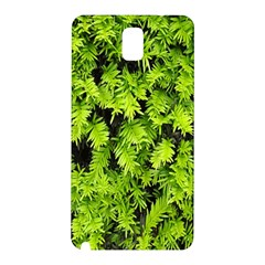 Green Hedge Texture Yew Plant Bush Leaf Samsung Galaxy Note 3 N9005 Hardshell Back Case