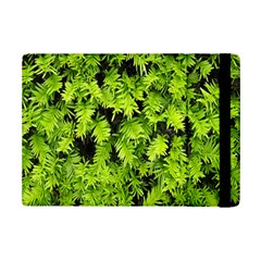 Green Hedge Texture Yew Plant Bush Leaf Ipad Mini 2 Flip Cases by Sapixe