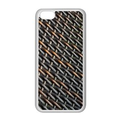 Rattan Wood Background Pattern Apple Iphone 5c Seamless Case (white)