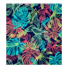Leaves Tropical Picture Plant Shower Curtain 66  X 72  (large)  by Sapixe