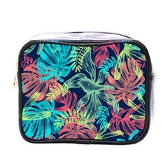Leaves Tropical Picture Plant Mini Toiletries Bag (one Side) by Sapixe