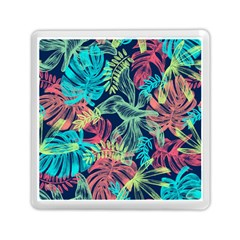 Leaves Tropical Picture Plant Memory Card Reader (square) by Sapixe