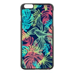 Leaves Tropical Picture Plant Apple Iphone 6 Plus/6s Plus Black Enamel Case by Sapixe