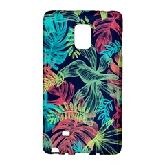 Leaves Tropical Picture Plant Samsung Galaxy Note Edge Hardshell Case