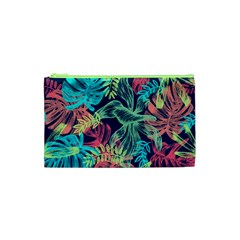 Leaves Tropical Picture Plant Cosmetic Bag (xs) by Sapixe
