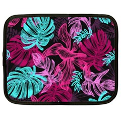 Leaves Drawing Reason Pattern Netbook Case (xl)