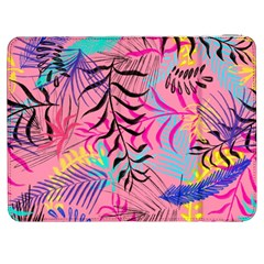 Illustration Reason Leaves Design Samsung Galaxy Tab 7  P1000 Flip Case by Sapixe
