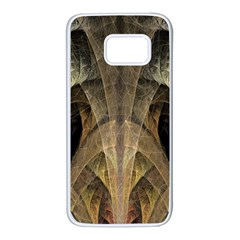 Fractal Art Graphic Design Image Samsung Galaxy S7 White Seamless Case