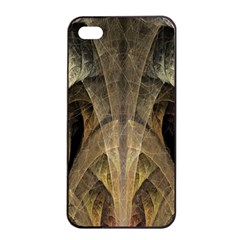 Fractal Art Graphic Design Image Apple Iphone 4/4s Seamless Case (black) by Sapixe