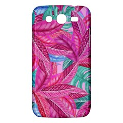 Leaves Tropical Reason Stamping Samsung Galaxy Mega 5 8 I9152 Hardshell Case  by Sapixe
