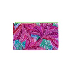 Leaves Tropical Reason Stamping Cosmetic Bag (xs) by Sapixe