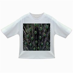 Background Peacock Feathers Infant/toddler T Shirts