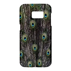 Background Peacock Feathers Samsung Galaxy S7 Hardshell Case