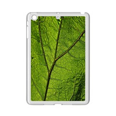 Butterbur Leaf Plant Veins Pattern Ipad Mini 2 Enamel Coated Cases