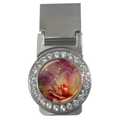 Wonderful Roses With Butterflies And Light Effects Money Clips (cz)  by FantasyWorld7