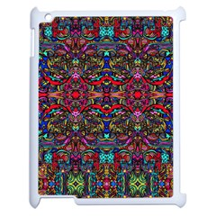 Color Maze Of Minds Apple Ipad 2 Case (white)