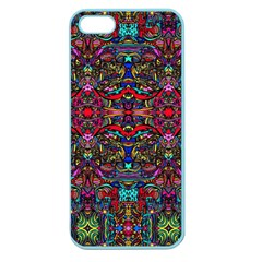 Color Maze Of Minds Apple Seamless Iphone 5 Case (color)