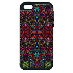 Color Maze Of Minds Apple Iphone 5 Hardshell Case (pc+silicone)